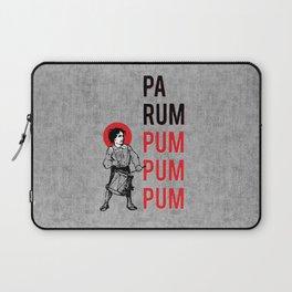 Drummer Boy Pa Rum Pum Pum Pum Laptop Sleeve