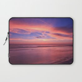 Pink Sky and Ocean Laptop Sleeve