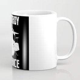 I Destroy Silence Drum Set Drummer Gift Coffee Mug