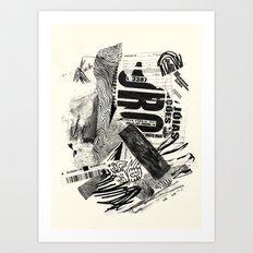 ouro Art Print