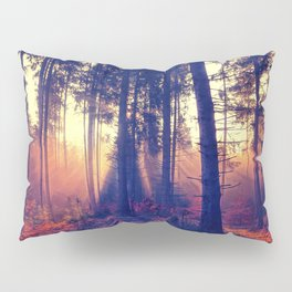 one morning in the middle of the forest Pillow Sham