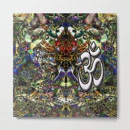 Om Shanti by Kenny Rego Metal Print