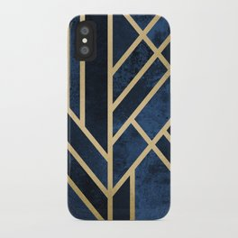Art Deco Midnight iPhone Case