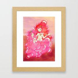 cloud girls Framed Art Print