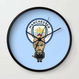 Guardiola MCFC Wall Clock