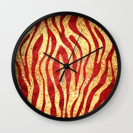 Holiday Mosaics Wall Clock