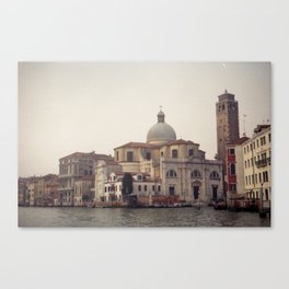 Venice in Winter mood Canvas Print