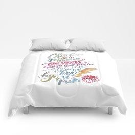 No vas y punto Comforters