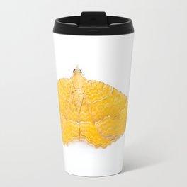 Yellow Shell Moth Travel Mug