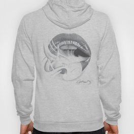 Dipendenza / Dependence - Smoke Lips - Mouth Hoody