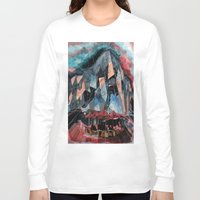 melbourne Long Sleeve T-shirts featuring Melbourne by sladja