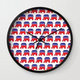 Republican party Wall Clock