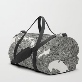 London map print Duffle Bag