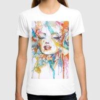 marylin monroe T-shirts featuring Marylin Monroe by Maria Zborovska