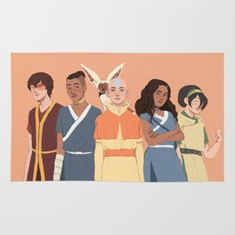 Team Avatar Rug
