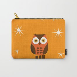 Owl on a Fence Carry-All Pouch