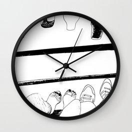Summer and Cider Wall Clock