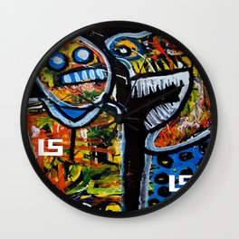 TWO LIQUORSTORE FANS CHAT 2013 Wall Clock