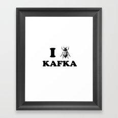 Kafka Framed Art Print