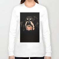 givenchy Long Sleeve T-shirts featuring Givenchy Antigona Rottweiler Art Print by Le' + WK$amahoodT Boutique by Paynasa®