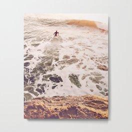 SunsetSurfing Metal Print