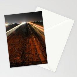 Light highway Stationery Cards
