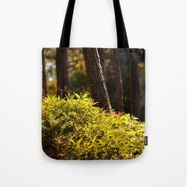 Yellow Green Tote Bag