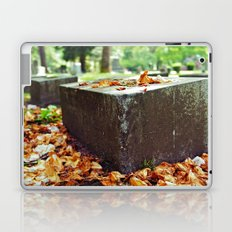 Cemetery scene Laptop & iPad Skin
