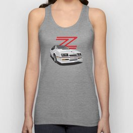 Daytona Turbo Z / CS - White T-top Unisex Tank Top