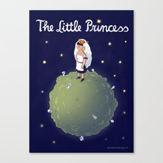 The Little Princess Canvas Print