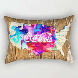 Coke Rectangular Pillow