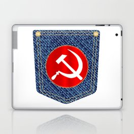 Russian Denim Pocket Laptop & iPad Skin
