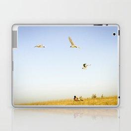 On the beach Portugal Laptop & iPad Skin