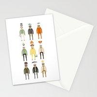 Walter White Pixelart Transformation- Breaking Bad Stationery Cards
