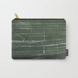 Kombu green abstract watercolor background Carry-All Pouch