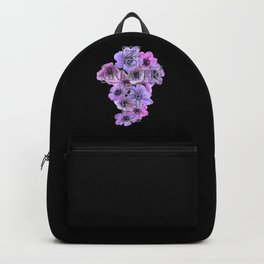 No Greater Love Than Jesus Cross With Flowers Backpack