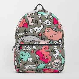 PLAYTIME_B Turquoise Backpack