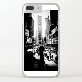 Times Square, NYC, March 2015 Clear iPhone Case