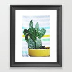 Summer Succulent Framed Art Print
