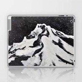 Mount Hood and Stars Laptop & iPad Skin