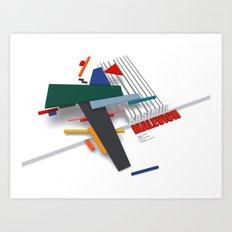 Malevich 3D Art Print