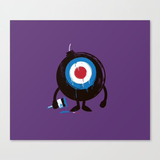 shoot me! Canvas Print
