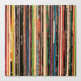 Alternative Rock Vinyl Records Canvas Print