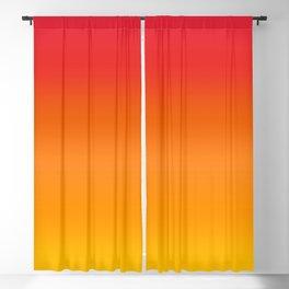 Mango Gradient Blackout Curtain