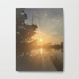 View of the bay Metal Print