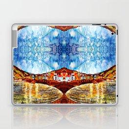 landskape-lake-fishing-oldtown Laptop & iPad Skin