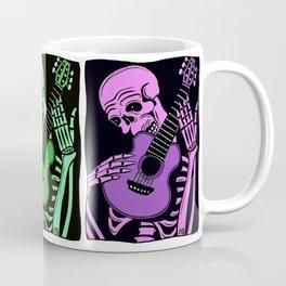 Skeleton w/ Guitar/Day of the Dead Coffee Mug