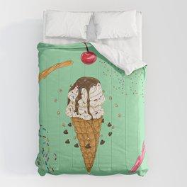 Ice Cream Mandala Comforters