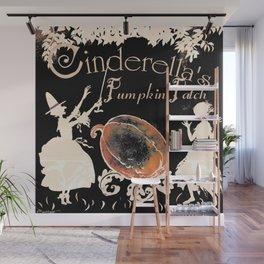 Cinderella's Pumpkin Patch ~ Altered Arthur Rackham Art Wall Mural