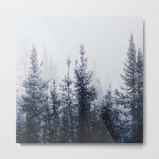 Waste a moment in the forest Metal Print